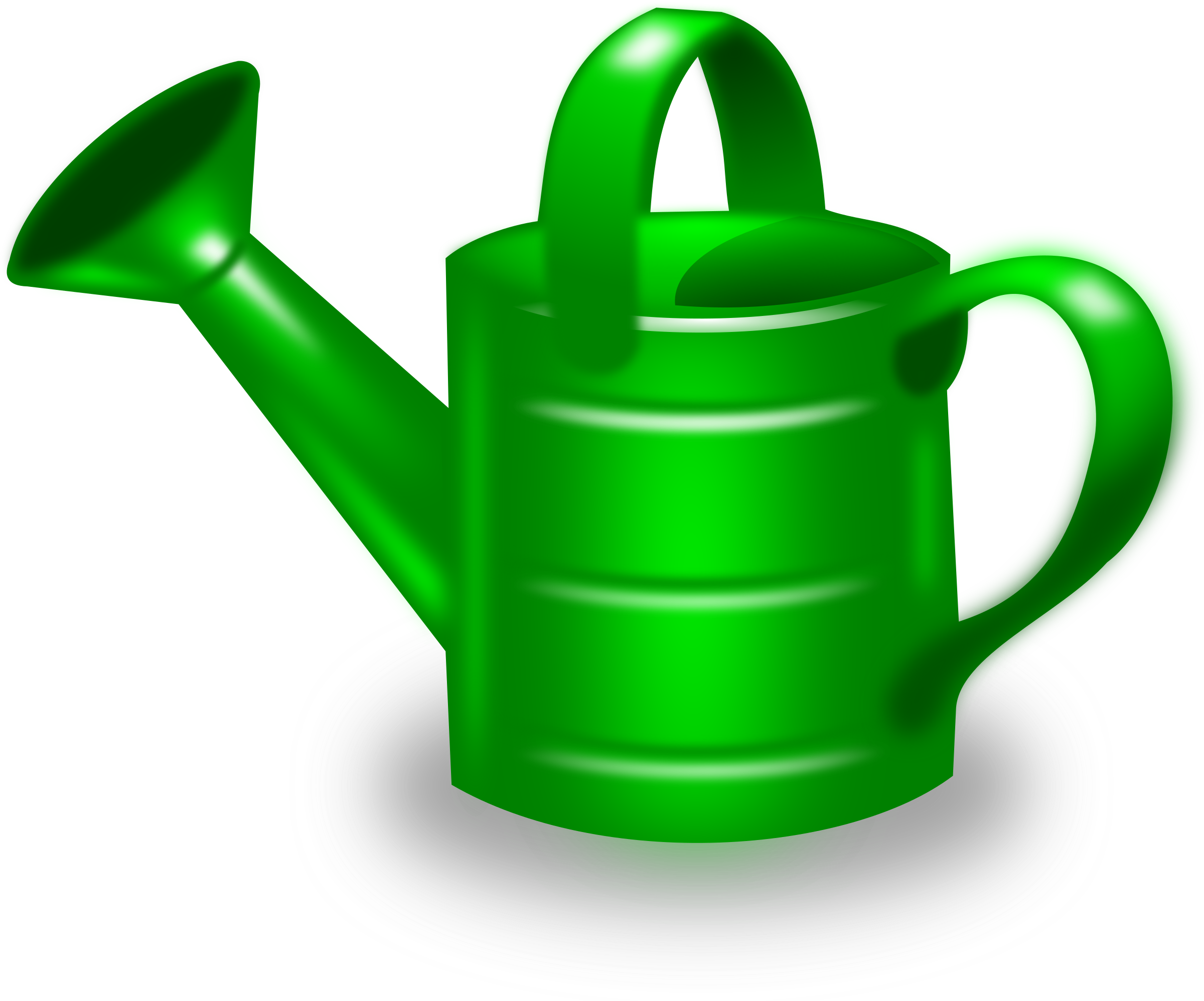 2400x1996 Watering Can Clipart Transparent