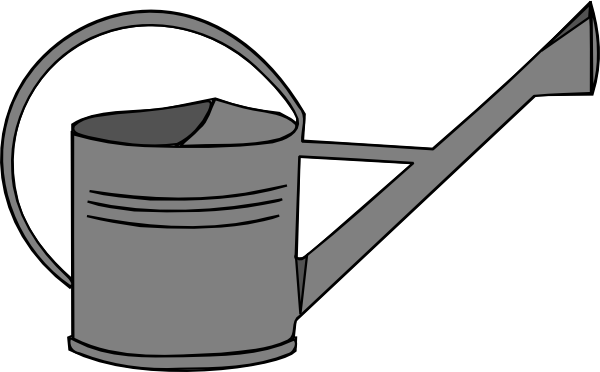 600x372 Watering Can Clipart Free Download Clip Art On 2