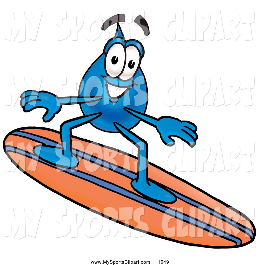 1024x1044 Sports Clip Art Of A Friendly Water Drop Mascot Cartoon Character