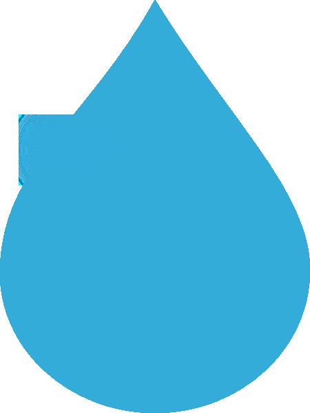 450x599 Blue Water Drop Clip Art