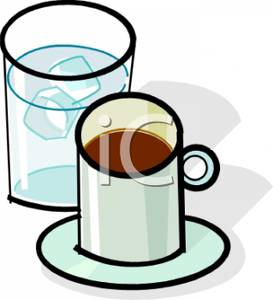 Water Cup Clipart