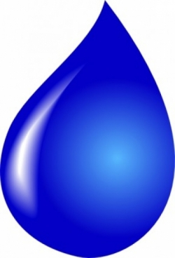 250x368 Free Vector Vector Clip Art Water Drop Clip Art