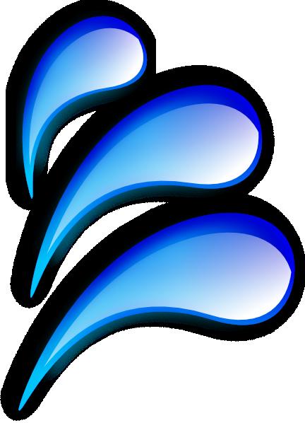 432x598 Water Droplets Clip Art