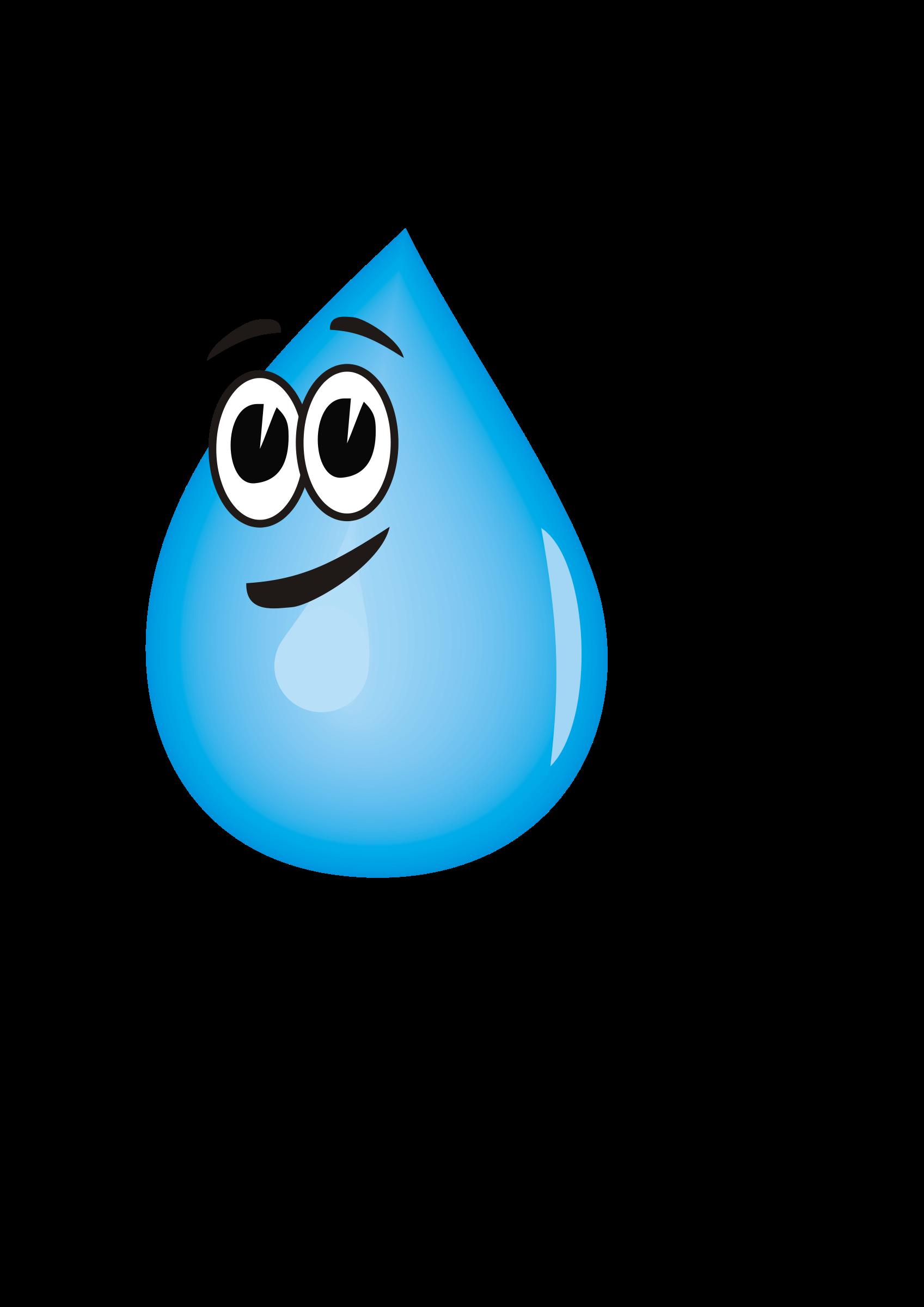 1697x2400 Cartoon Water Drop Clipart Kid