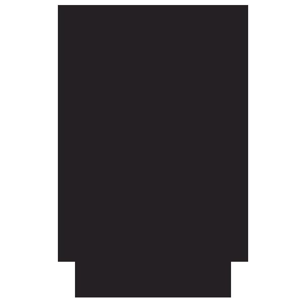 600x600 Water Drop Outline