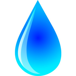 300x300 Water Droplet Clipart