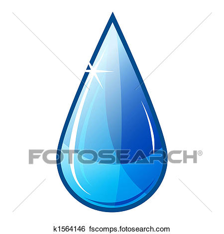450x470 Stock Illustration Of Illustration Icon Of Blue Water Drop Falling