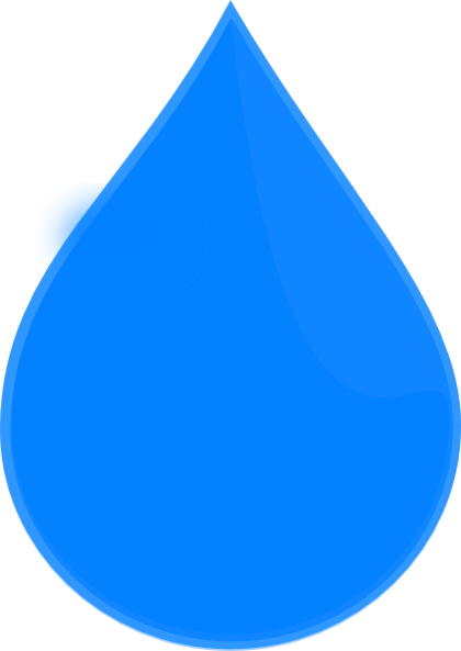 420x593 Blue Water Drop Png, Svg Clip Art For Web