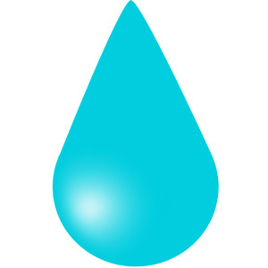 300x300 Water Droplets Clipart Water Dripping