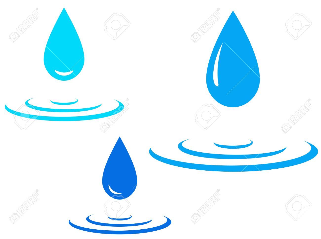 1300x968 Water Droplets Clipart Water Drop
