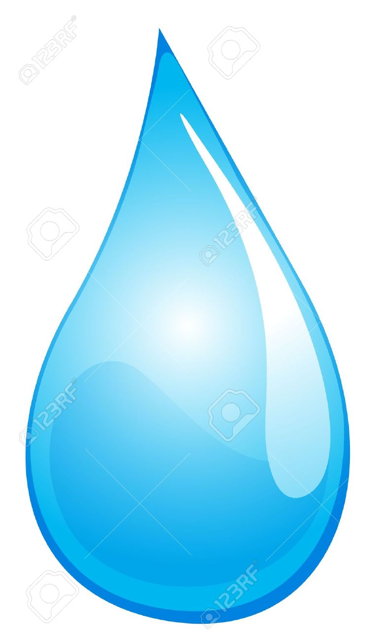 Water Drops Clipart