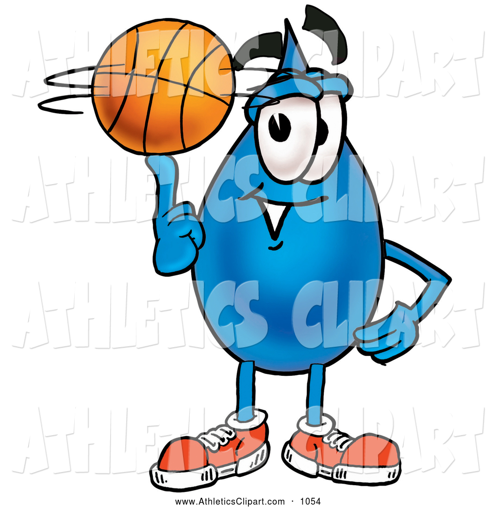1024x1044 Clip Art Of An Outgoing Water Drop Mascot Cartoon Character