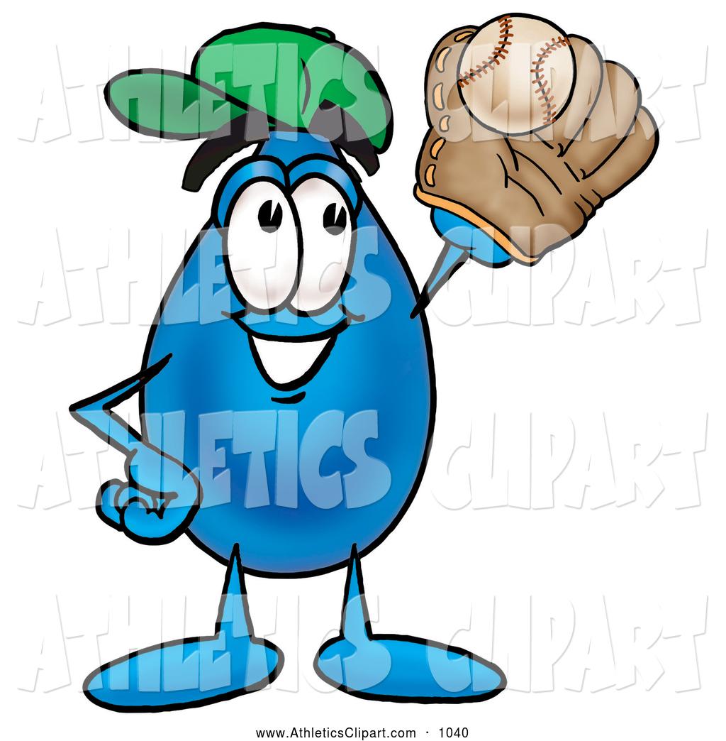1024x1044 Clip Art Of A Friendly Water Drop Mascot Cartoon Character