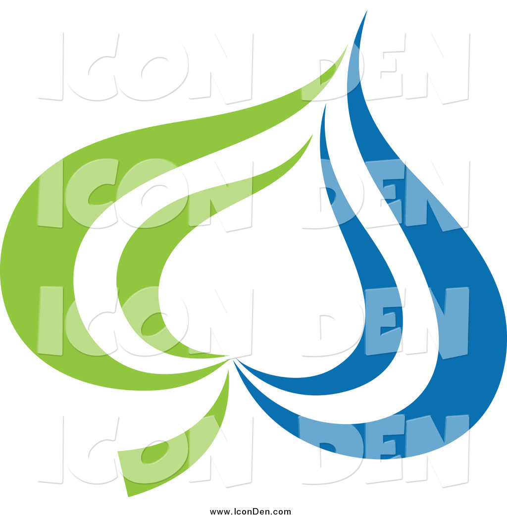 1024x1044 Clip Art Of A Green And Blue Ecology Waterdrop And Leaf Logo By