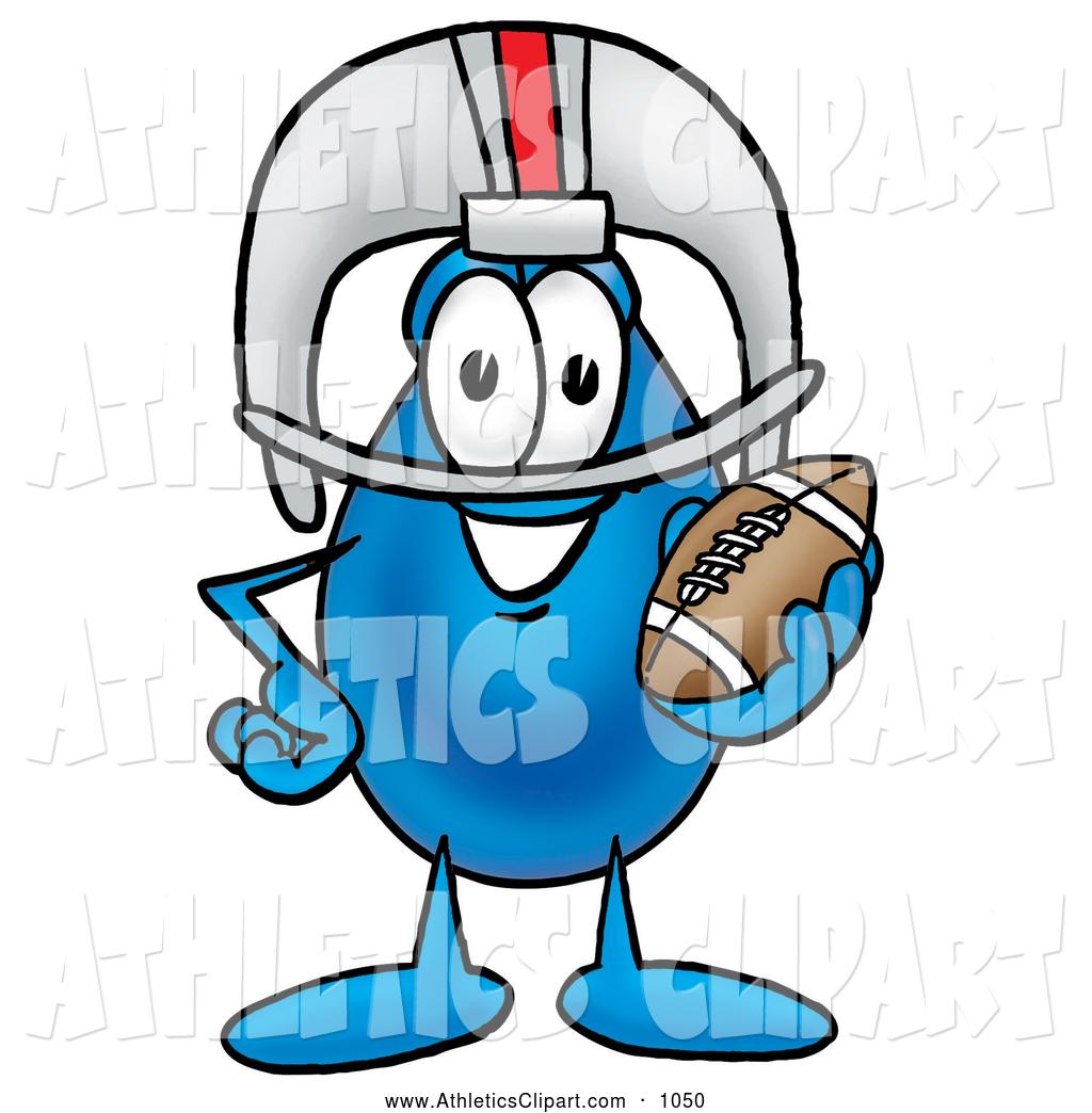 1024x1044 Cliprt Of Happy Water Drop Mascot Cartoon Character In