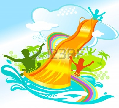 401x366 Water Park Slides Clip Art Cliparts