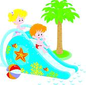 170x167 Waterpark Clip Art