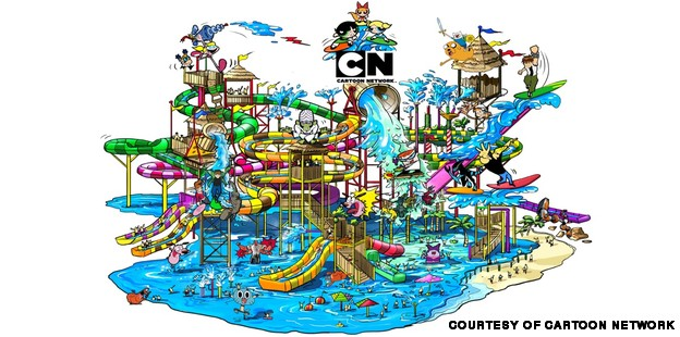624x310 World's First Cartoon Network Water Park To Open In Thailand Cnn