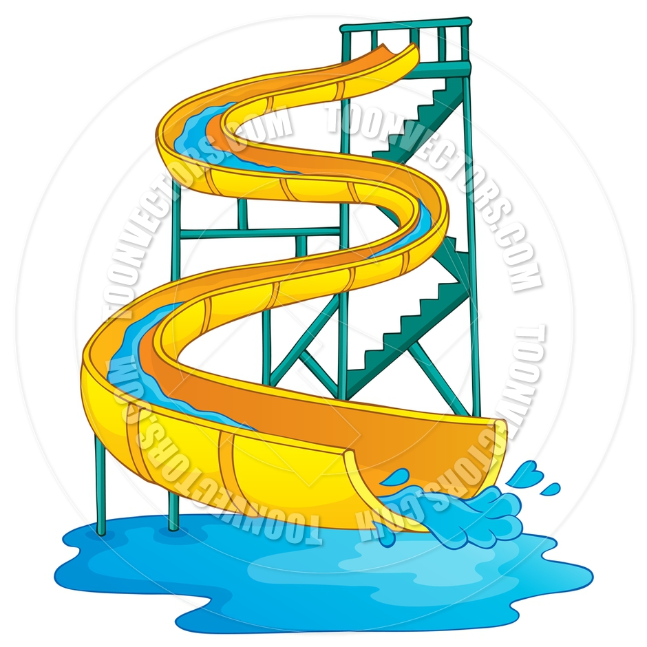 940x940 Cartoon Image With Water Park Theme By Clairev Toon Vectors Eps