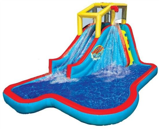 550x446 Floating Clipart Inflatable Water Slide