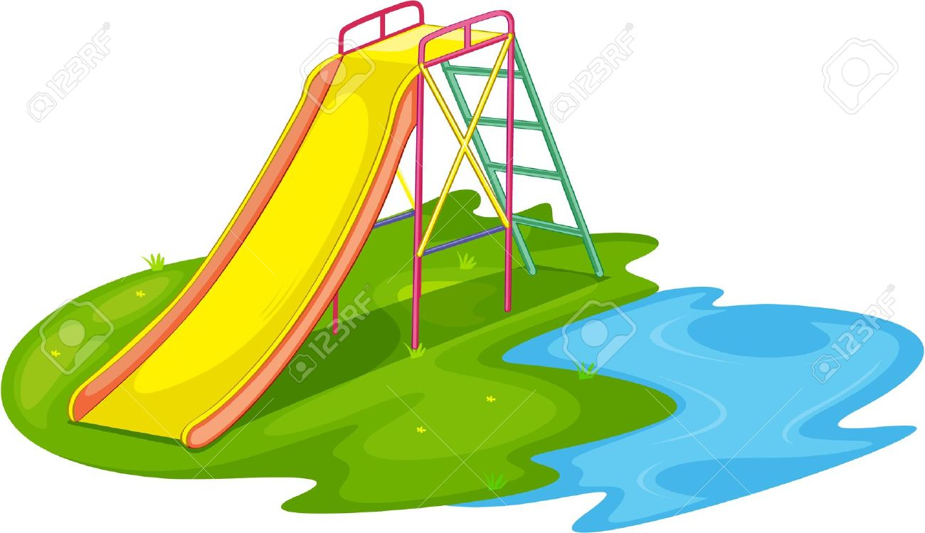 1300x749 Park Clipart Playground Slide