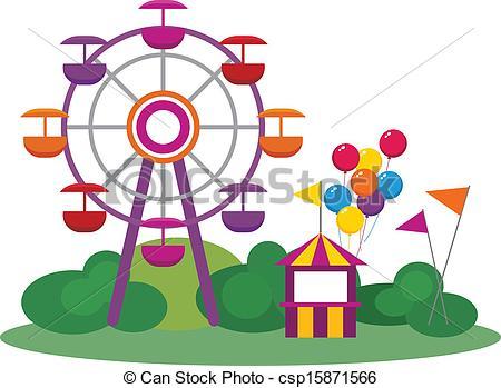 450x349 Park Clipart Theme Park