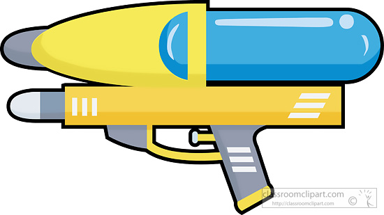 550x309 Clipart Of A Water Gun