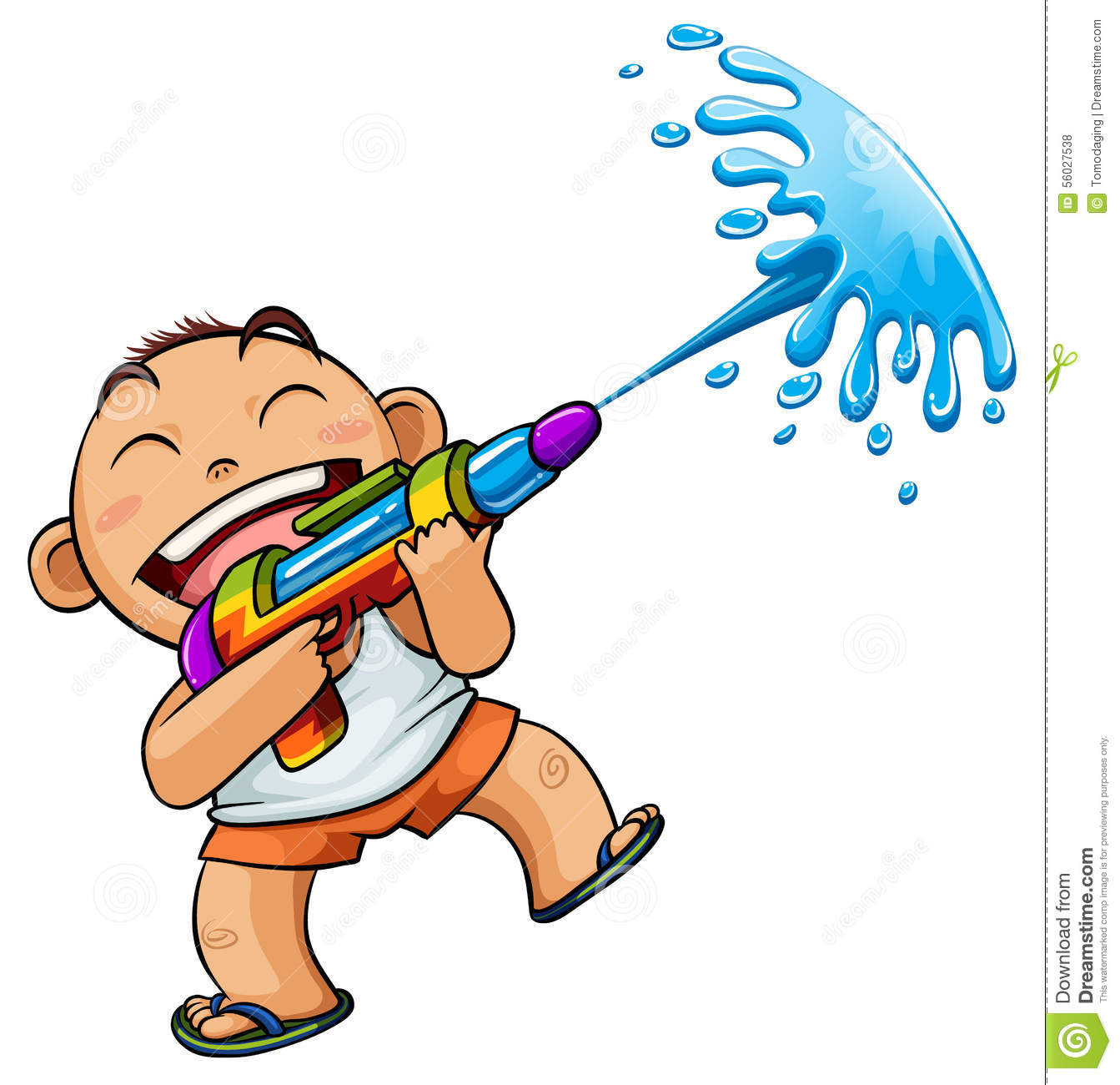 1343x1300 Fight Clipart Water Pistol