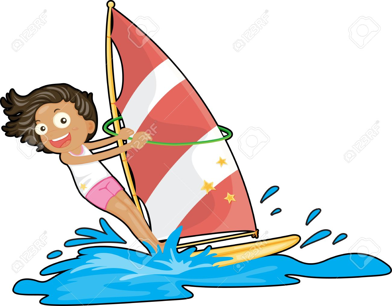 1300x1015 Sailing Clipart Water Play