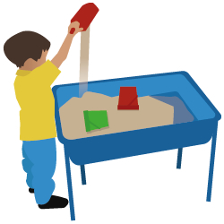 250x250 Sand Clipart Water Play
