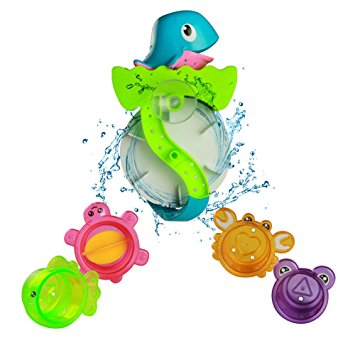 355x355 Bath Toy Play Set Waterwheel Toy Bathtub Water Game