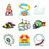 170x170 Water Slide Clip Art
