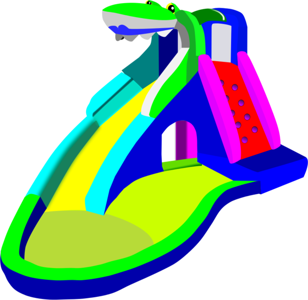 600x585 Water Slide Clip Art 4