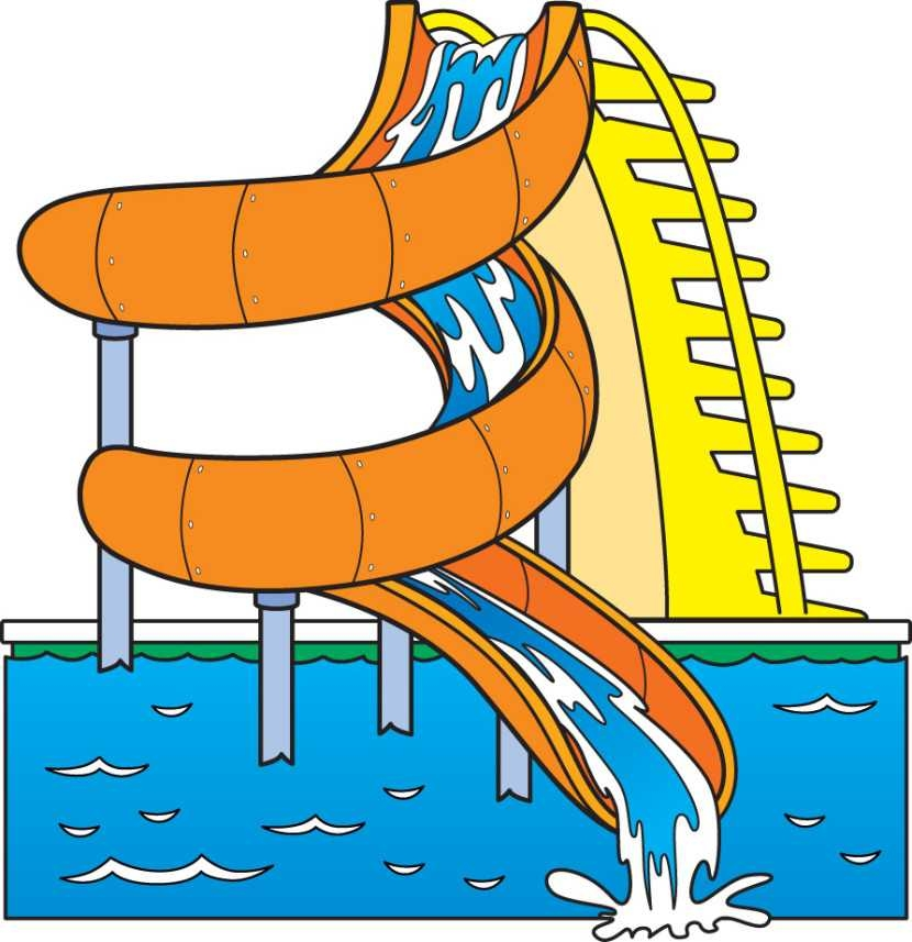 830x857 Water Slide Clip Art