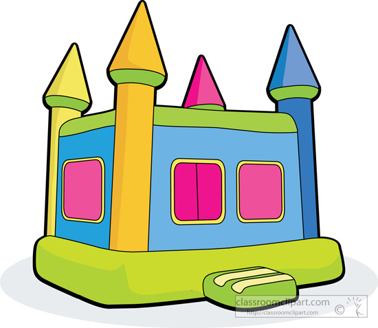 550x477 Bounce House Clip Art Many Interesting Cliparts