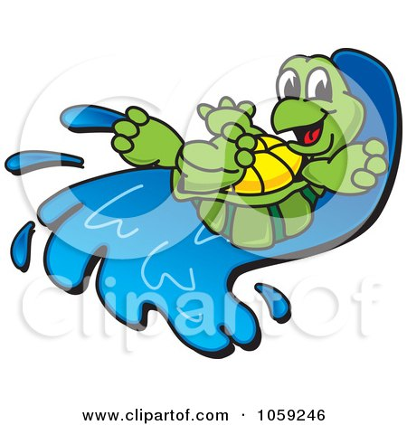 450x470 Royalty Free (Rf) Water Slide Clipart, Illustrations, Vector