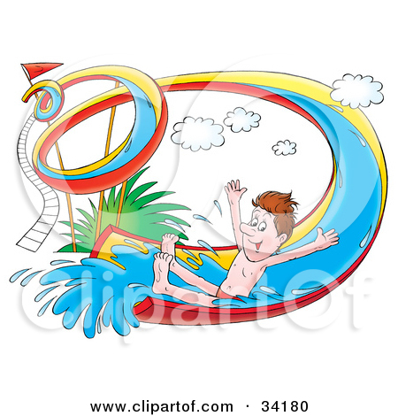 450x470 Water Slide Clip Art Clipart