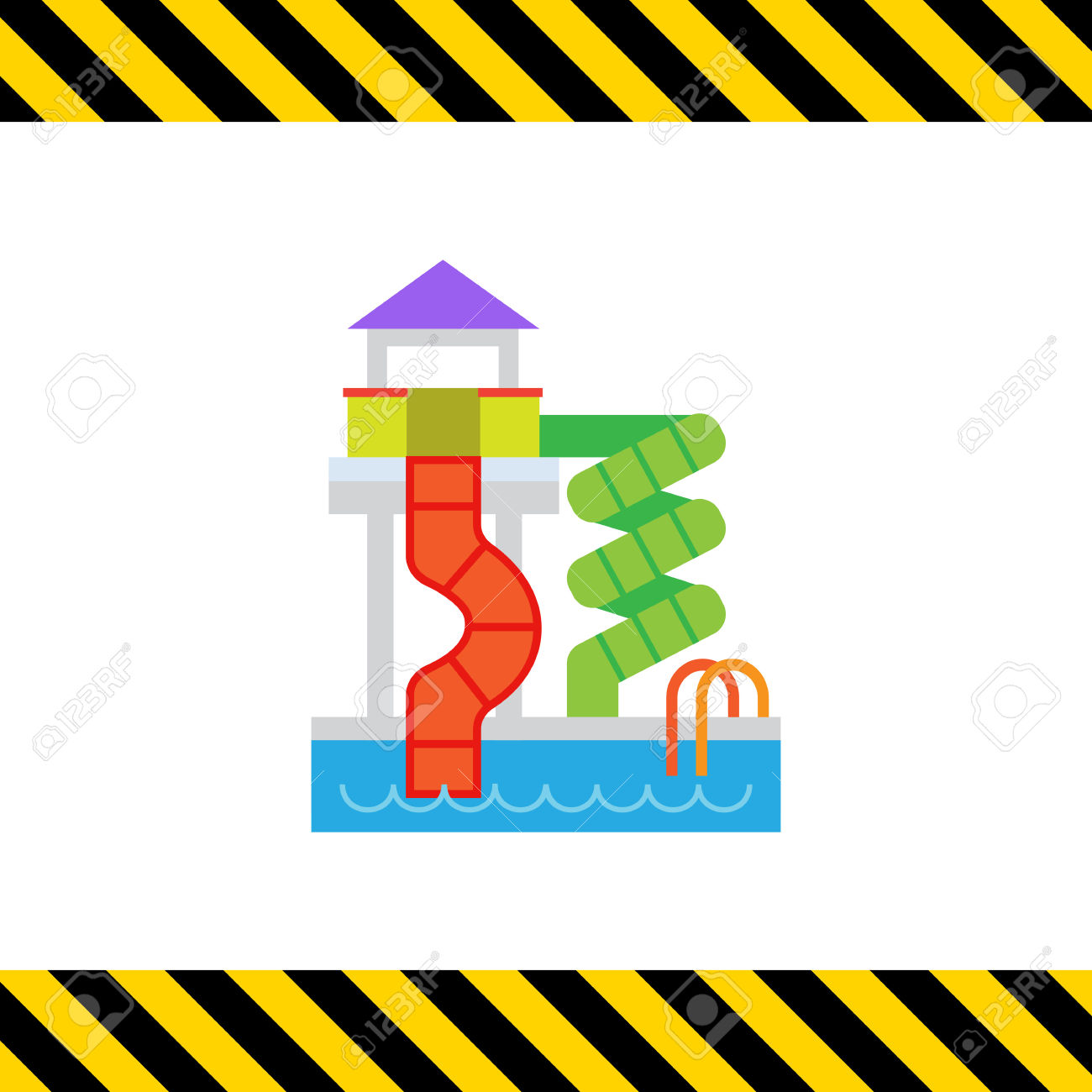 1300x1300 Floating Clipart Water Park