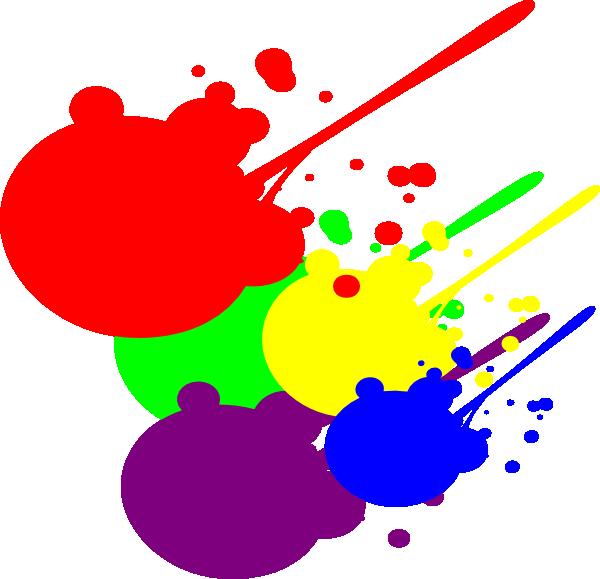600x579 Image of Splatter Clipart