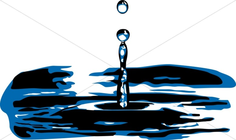 776x459 Water Splash Baptism Clipart
