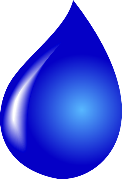 402x592 Water Drop Vector Clip Art