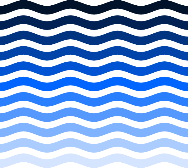 600x534 Simple Water Waves Png, Svg Clip Art For Web