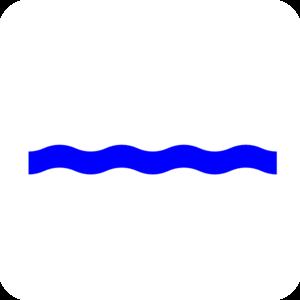300x300 Waves Waterline Wave Blue Clip Art High Quality Clip Art