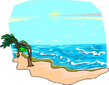 350x274 Ocean Clip Art