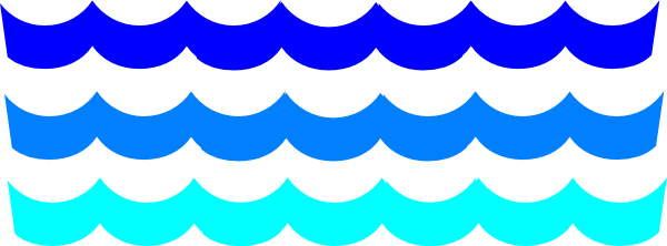 600x222 Ocean waves clipart free clipart images