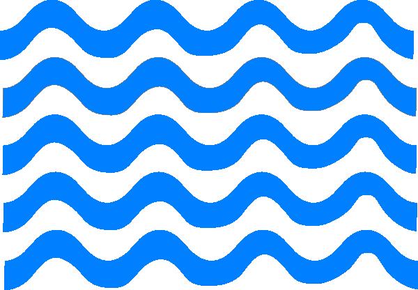 600x416 Blue Wave Lines Clip Art