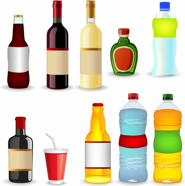 599x600 Bottle Cap clipart water bottle