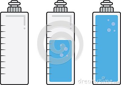 400x281 filling water bottles clipart