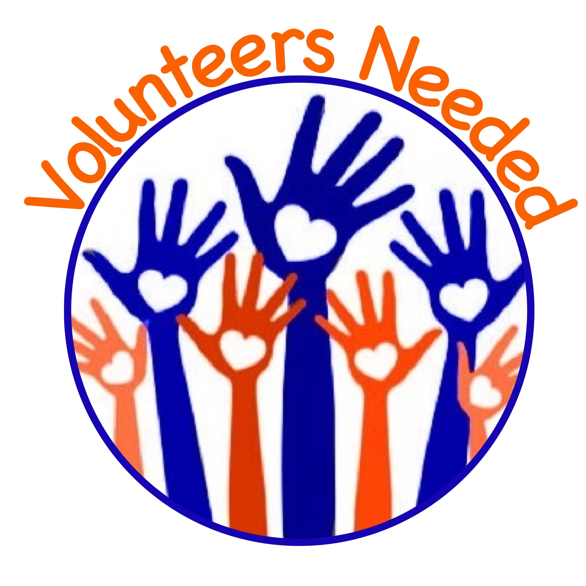 2048x2048 Free Clipart Volunteers Needed