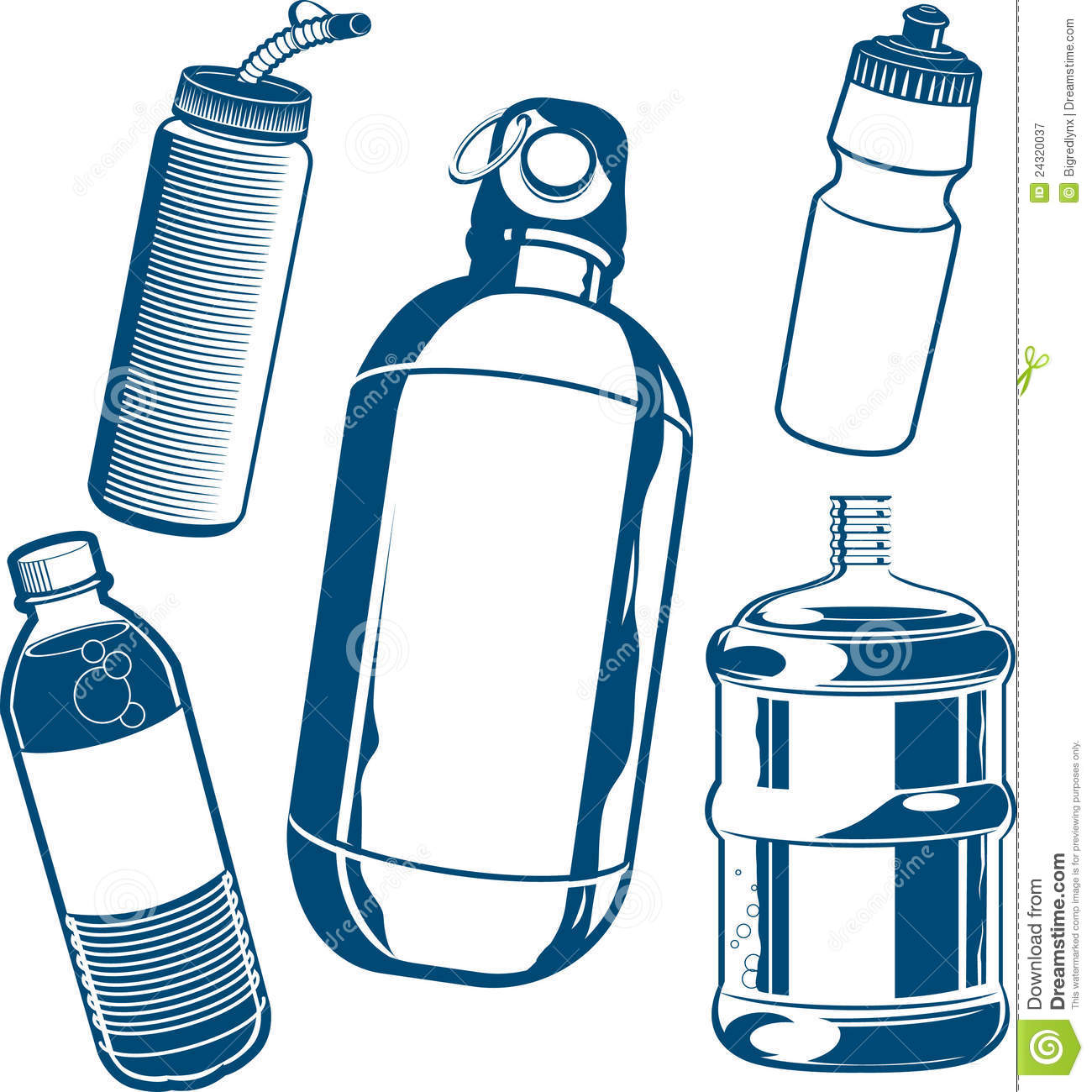 1300x1300 Free Clipart Water Bottle